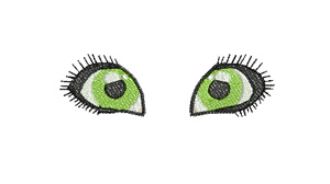Bright Eyes Machine Embroidery Designs