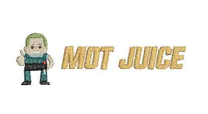 MOT Juice Customer Special Machine Embroidery Design
