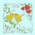 Baby Bird Quilting Blocks Machine Embroidery Designs