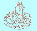 Baby Sleeping Machine Embroidery Designs