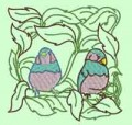 Bird Quilting Blocks Machine Embroidery Designs