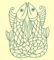 Celtic Fish Machine Embroidery Design
