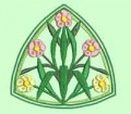 Celtic Flower Machine Embroidery Design