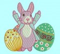 Easter Eggs Set 1 Machine Embroidery Designs