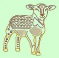 Farm Animals Outline Machine Embroidery Designs