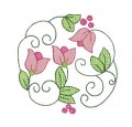 Floral Circles Machine Embroidery Designs