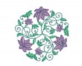 Flower Circles Set 4 Machine Embroidery Designs
