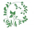 Green Flowers Set 2 Machine Embroidery Designs