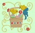 Jacobean Easter Machine Embroidery Designs