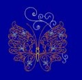 Lacy Butterfly Quilting Machine Embroidery Designs