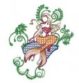 Mermaids Machine Embroidery Designs
