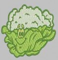 Funny Vegetables Machine Embroidery Designs