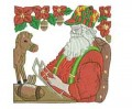 Santa Workshop Toys Machine Embroidery Designs