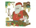 Santa Workshop Toy Making Machine Embroidery Designs