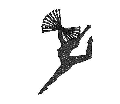 Dancer Customer Special Machine Embroidery Design